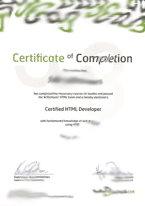 Net Jungle Multimedia bied u de mogelijkheid om HTML Developer Certificate, CSS Developer Certificate of JavaScript Developer Certificate bij ons op kantoor af te leggen.