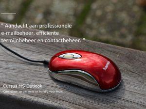 Na afsluiting van onze Officecursus MS Outlook bent u in staat uw dagelijks administratief werk met Outlook te verrichten en te organiseren. U leert professionele e-mails te maken en te bewaren. Bovendien raakt u bekennt met efficiënte termijnbeheer en contactbeheer.