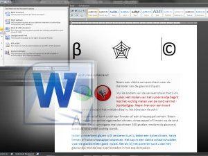 Na afsluiting van onze cursus MS Word beginner bent u in staat een professioneel opgemaakt document met of zonder foto, versturen en af te drukken.